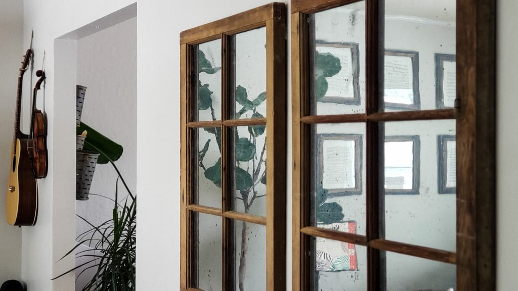 How To Make A Faux Mercury Glass Mirror Tidy Mo